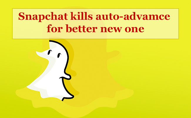 snapchat , auto advance, story playlist