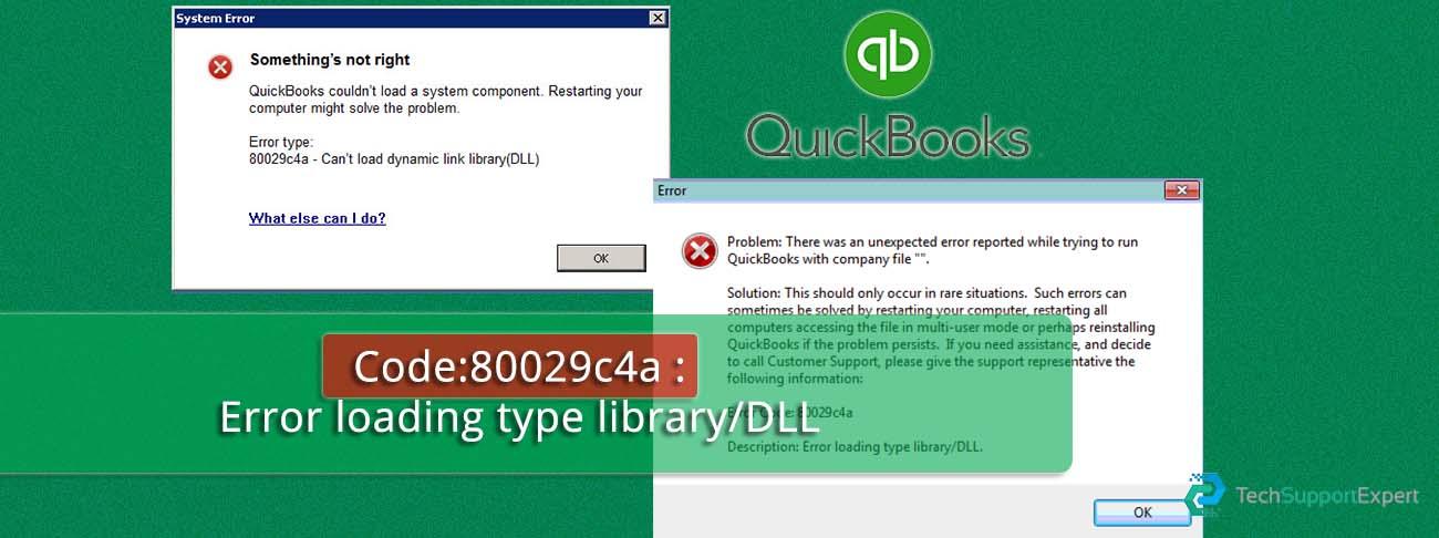 Quickbooks 80029c4a