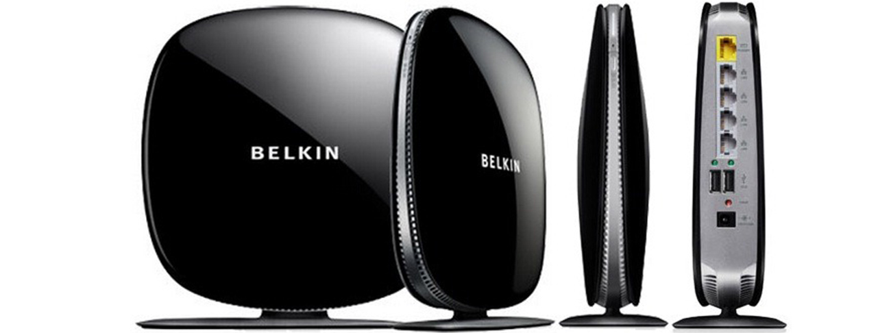 Check Belkin router's IP Address in Windows 10