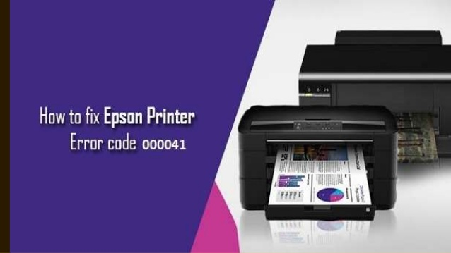 How to Fix Epson Printer Error Code 000041?